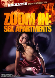 Impulse Pictures & Synapse Films Zoom In: Sex Apartments DVD cover