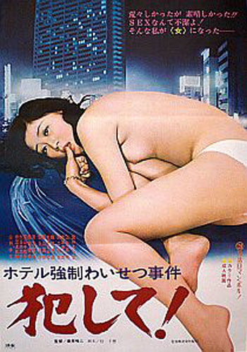 Rape Me: Sexual Assault In a Hotel Room japanese poster