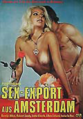 SEX EXPORT AUS AMSTERDAM German theatrical poster